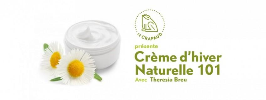 Atelier Crème d'hiver Naturelle 101