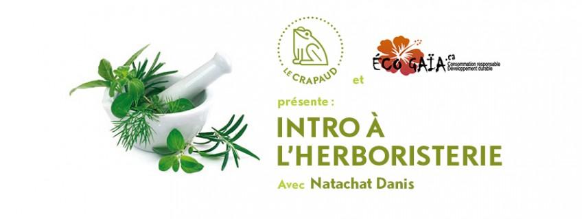 Atelier Intro à l'herboristerie